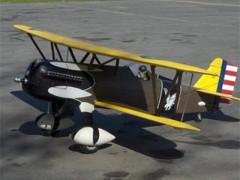 Curtiss P-6E Hawk model airplane plan