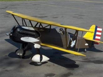 Curtiss P-6E Hawk model airplane plan