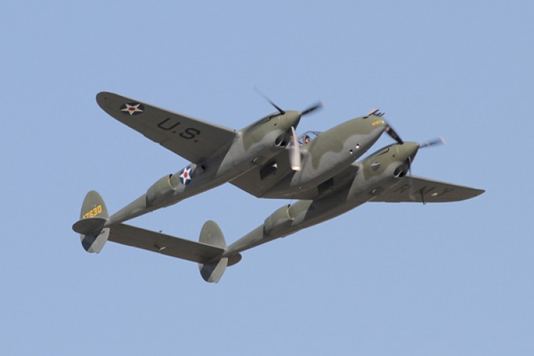 LOCKHEED  P-38 model airplane plan