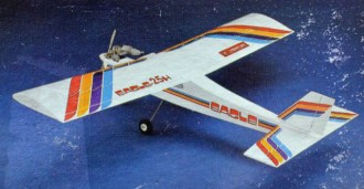 Eagle 25H model airplane plan