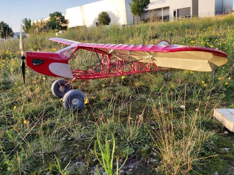 Zlin Savage Bobber model airplane plan