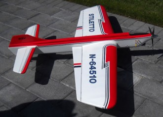 Stiletto model airplane plan
