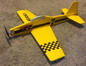 Tiny Toni model airplane plan