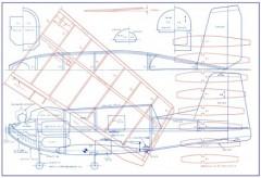 Arrow Q model airplane plan