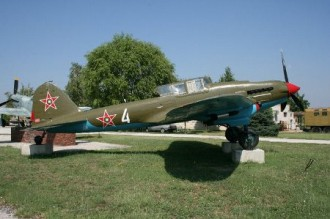 IL-2 Sturmovik model airplane plan