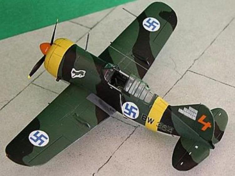 Brewster 239 model airplane plan