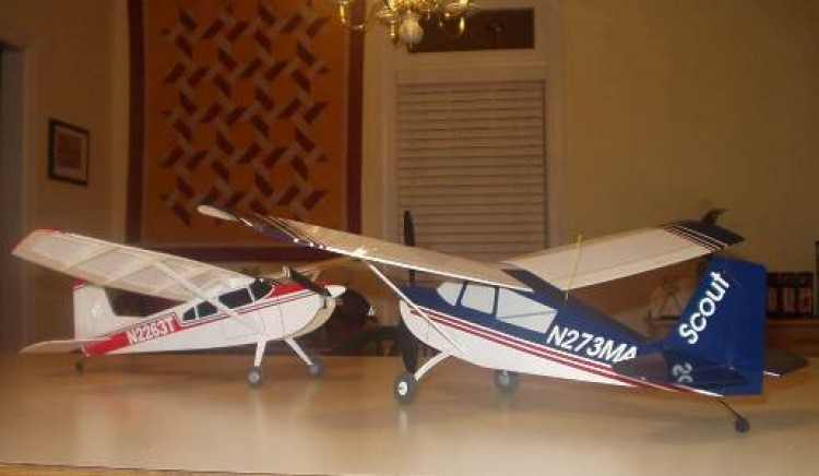 Cessna 185 Mini model airplane plan