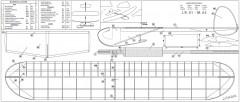 JR01 model airplane plan