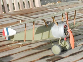 Sopwith Camel model airplane plan