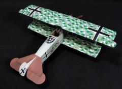 Fokker D.VII model airplane plan