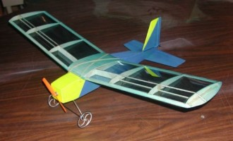 Guided Mite model airplane plan