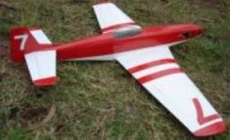 Mega P51 Racer model airplane plan