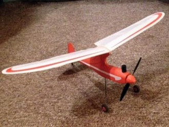 Dwarf 1S Micro model airplane plan