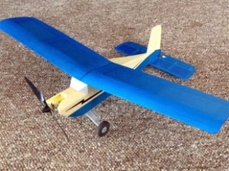 Live Wire 1S Micro model airplane plan