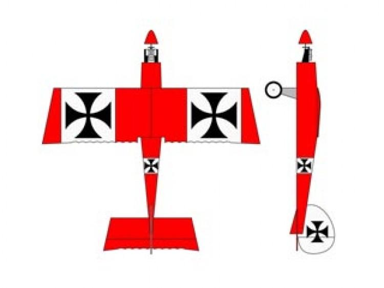 Ugly Stik 1S Micro model airplane plan
