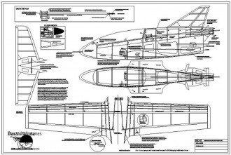 BD5 model airplane plan