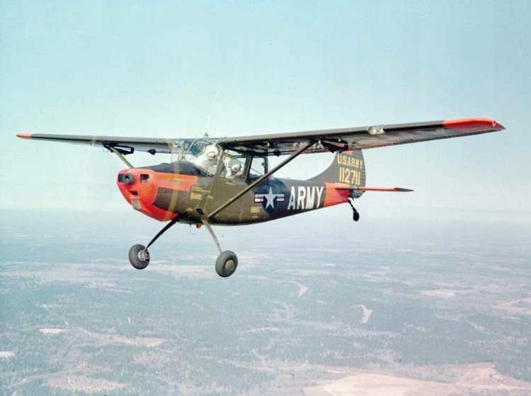 Cessna Bird Dog model airplane plan