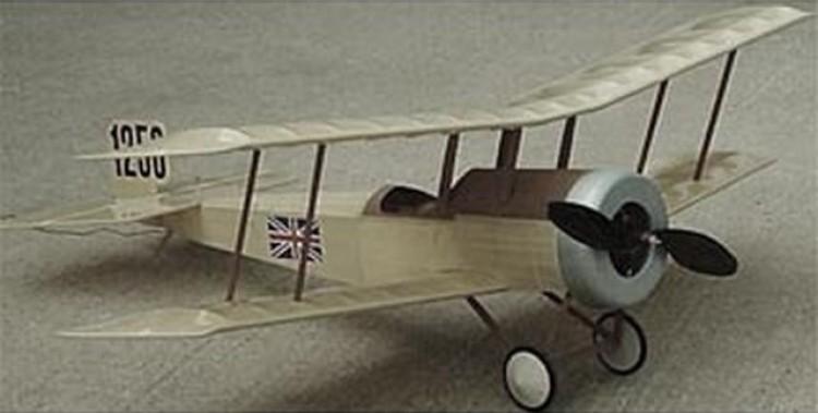 Bristol Scout-D model airplane plan