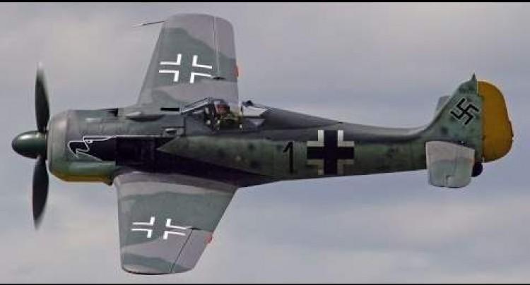 Focke Wulf 190a model airplane plan