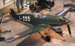 Messerschmitt Bf 109 E-7 model airplane plan