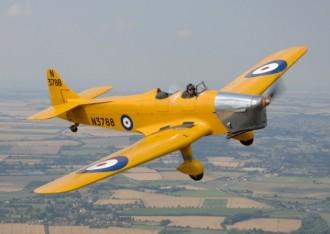Miles Magister model airplane plan