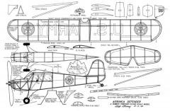 Aeronca Defender model airplane plan