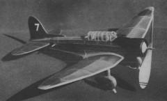 Aichi D3A1 Val model airplane plan