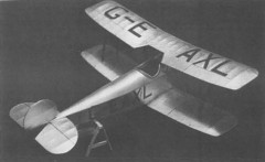 Avro 534C model airplane plan