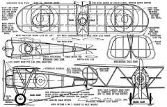 Avro Spider model airplane plan