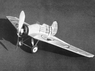 Bok-5 model airplane plan