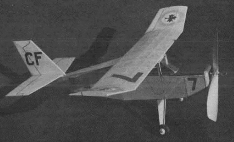 Boston Found model airplane plan