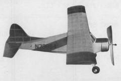 Bostonian Beaver model airplane plan