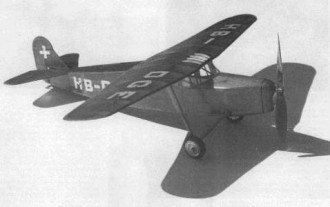 Comte AC-12E model airplane plan