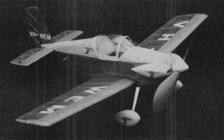 Corby Starlet model airplane plan