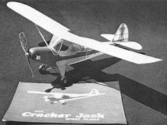 Crackerjack model airplane plan