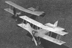 D.H-6 model airplane plan