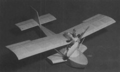 Dornier Libelle model airplane plan