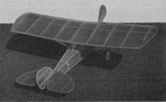 Elias Aircoupe model airplane plan