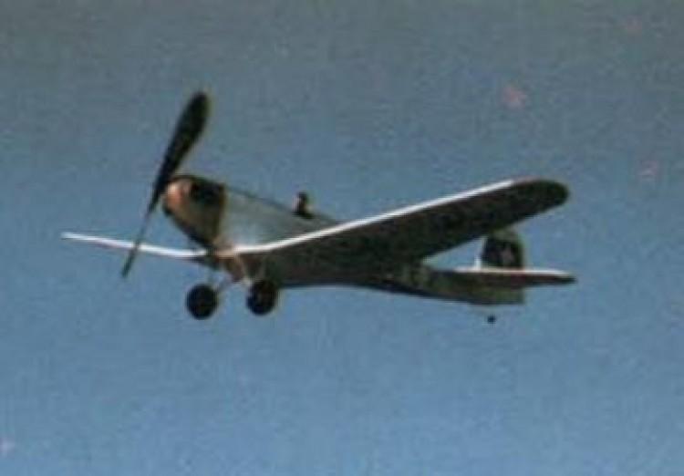 Erla 5A model airplane plan