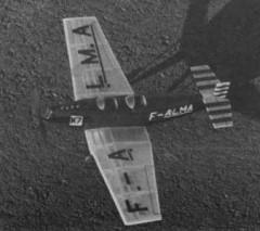 Farman 352 model airplane plan