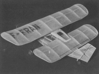 Flying Flea model airplane plan