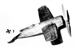 Fokker V-23 model airplane plan