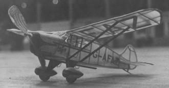 Foster Wickner GM-1 model airplane plan