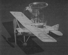 Gourdou Leseurre C1 model airplane plan