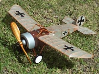 Hergt Monoplane model airplane plan