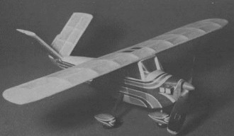 Honey Bee model airplane plan