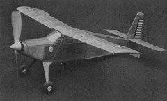 Hyannis Helio model airplane plan