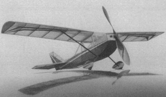 JN-1 model airplane plan