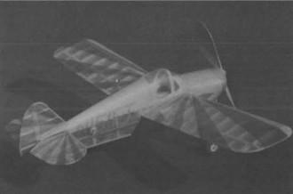 Keleher Lark model airplane plan