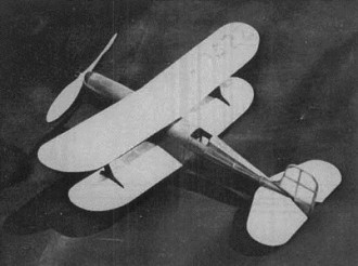Laird LC-DC model airplane plan